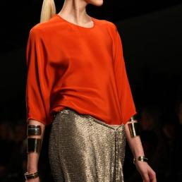 Amanda Wakeley\'s collection during London Fashion Week A/W 2011 at Somerset House in London, UK on 22th February, 2011.