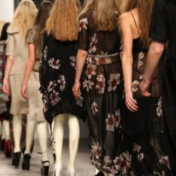 Betty Jackson\'s collection during London Fashion Week A/W 2011 at Somerset House in London, UK on 19th February, 2011.