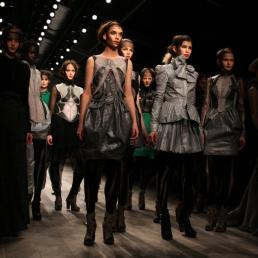 Bora Aksu\'s collection during London Fashion Week A/W 2011 at Somerset House in London, UK on 18th February, 2011.