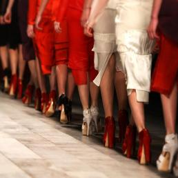 Emilio de la Morena\'s collection during London Fashion Week A/W 2011 at Somerset House in London, UK on 22th February, 2011.