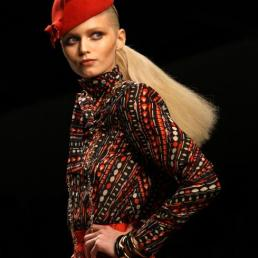 Issa London\'s collection during London Fashion Week A/W 2011 at Somerset House in London, UK on 19th February, 2011.