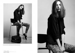 pants // etro | shirt //dolce & gabbana | shoes // lola cruz | bag // ermanno scervino
