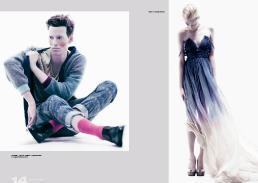 [sx] cardigan // yasmin bawa | t-shirt // yasmin bawa | trousers // yasmin bawa [dx] dress // amelia howard