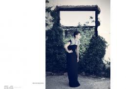 dress // zara | shrug // sportmax