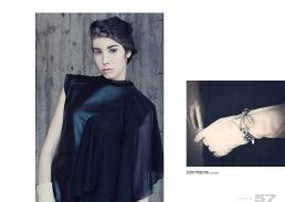 [sx] dress // gabriella cataldi [dx] gloves // vintage | armlet // max mara