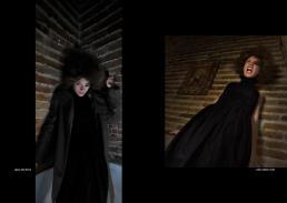 giacca: Sofie D'Hoore - vestito: Massimo Crivelli