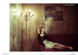 collana // vintage | corpetto // lupatelli | gilette // space | gonna // stylist's own | scarpe // stylist's own