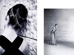 [sx] Vestito: Emilio Pucci - Bracciali: Emanule Bicocchi [dx] Vestito: Emilio Pucci - Bracciale: Givenchy