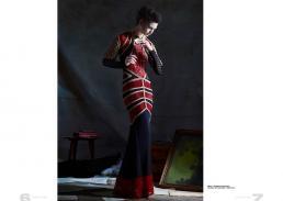dress // ekaterina kukhareva | necklace and earrings // stylist own