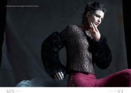 fur sleeved jacket // ekaterina kukhareva | leggings // ekaterina kukhareva | ring // stylist own