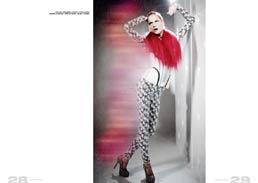 black and white glitter jumpsuit // maison portier | futuristic underbust // lotte van keulen  | shoes // bordello