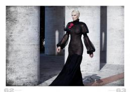 dress // Barbara La Lia Couture|shoes // Zara