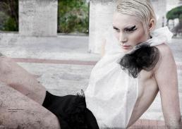 dress // Barbara La Lia Couture|shoes // Moschino