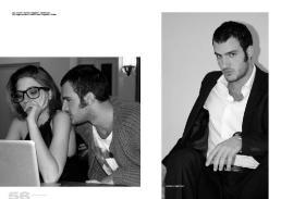 [lei] Occhiali // Ray Ban | Maglietta // Stylist's Own [lui] Maglione // Sofie D'Hoore | Maglietta // barillari\'s story