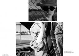 jacket // jeans levis | t-shirt // acne leggings // american apparel hat // hirohisa and lewis | eyewear // vintage