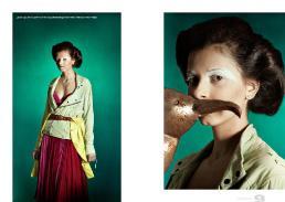 giacca // gold bunny | spolverino // edo city by alessandra giannetti | vestito // leila hatzi | cinta // vintage