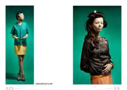 [sx] total look// stylist's own | orecchini // vintage [dx] giacca// gold bunny | vestito // l'altra moda