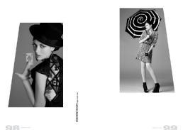 [sx] abito nero forato a pois // poems  [dx] abito plissettato // orion london | scarpe // stylist's own