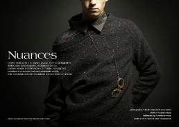 maglione & camicia // nat   occhiali // mondelliani