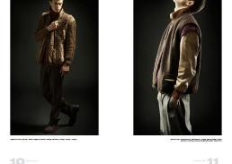 [sx] maglione in lana e pelliccia // pifebo   maglione colloalto & pantaloni // vintage   scarpe // camper [dx] gilet marrone // lacoste archivio   gilet bordeux // vintage   giacca di pelle // pifebo   pantaloni // edocity   spilla // danae roma