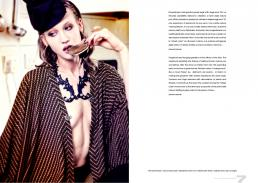 shirt and necklace // not your dolls | pants // alessandra marchi | hat // valentina sarli | shoes // collection privè | ring // lo scrigno