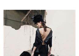 dress // paola puro | leggins // ilaria nistri | hat 1 // stylist own | hat 2 // paola puro