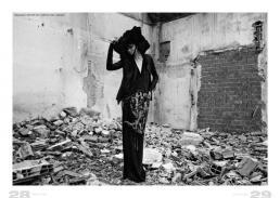dress & jacket // ilaria nistri | hat 1 // stylist own | hat 2 // paola puro
