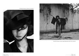[sx] dress & jacket // ilaria nistri | hat 1 // stylist own | hat 2 // paola puro [dx] body & kimono // paola puro | neck corset // elga jazz design | tights // stylist own | shoes // united nude