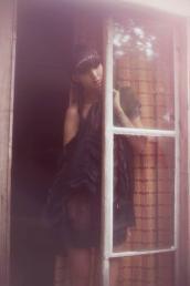 ruffle top &  shorts // anne valerie hash | head jewel // pagan poetry