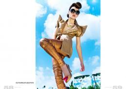 shirt // yosef   leggings // spina   collar// naama brosh   shoes // vivienne westwood   sunglasses // tom ford