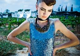 dress // emma   collar // ayelet shachar   braces // private collection