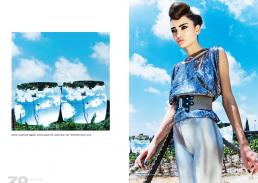 [dx] shirt // gerard darel   leggings // american apparel   belt // ayelet shahar   collar // shichimickis   shoes // scoop