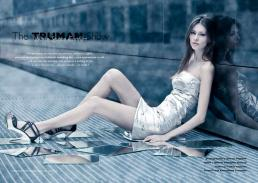 dress silver belt // alberto caneglias | shoes // zara | mirrors // ikea