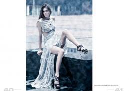 dress cold stripes // alberto caneglias | shoes // zara | mirrors // ikea