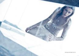 dress crystals // alberto caneglias | mirrors // ikea