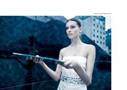 dress ice glow // alberto caneglias | mirrors // ikea